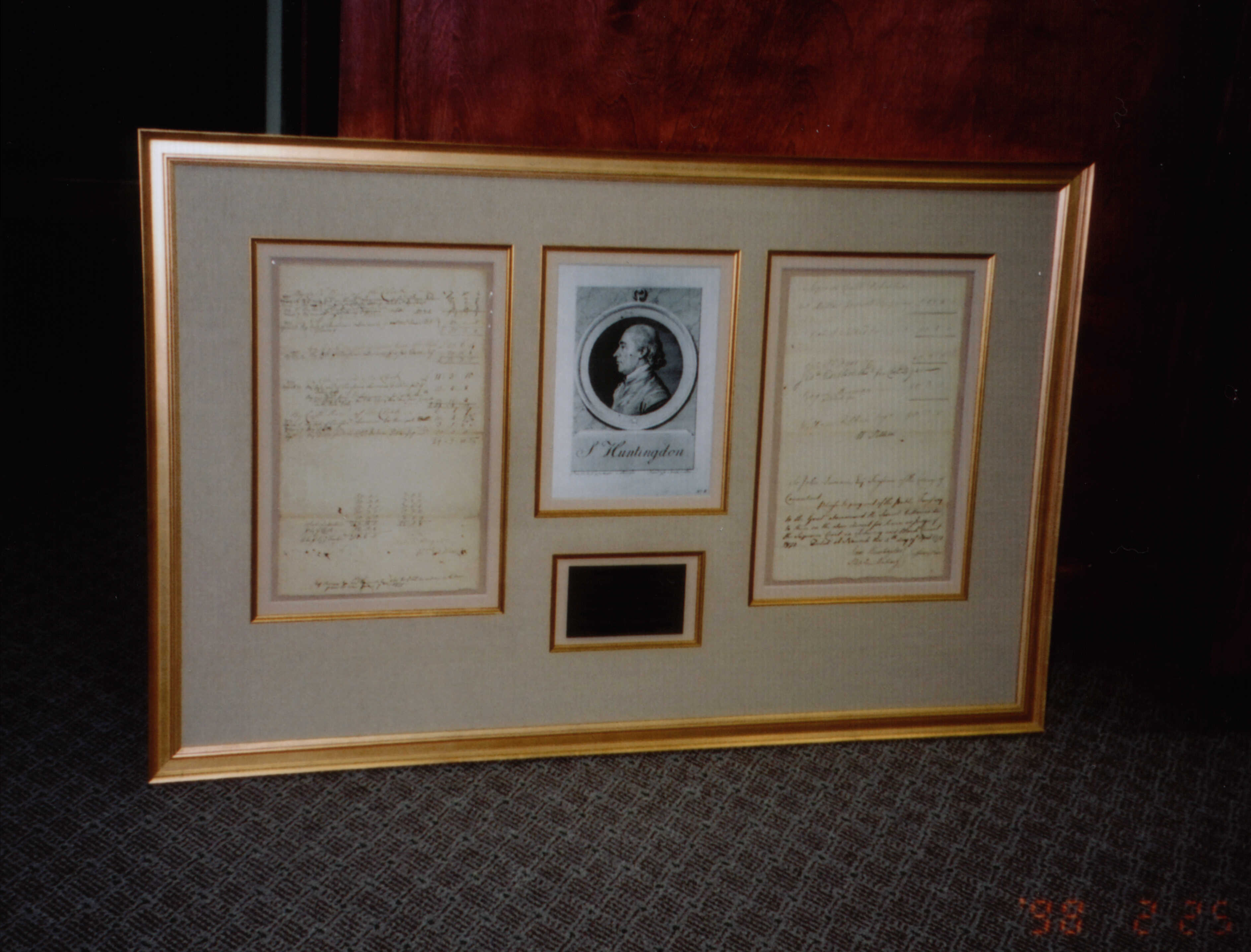 Conservation Framing Framed In Tatnuck